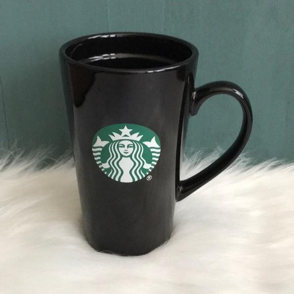 Starbucks Other - Starbucks tall black logo mug